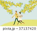 春 人物 イメージのイラスト 37137420