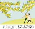春 人物 イメージのイラスト 37137421