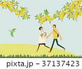 春 人物 イメージのイラスト 37137423
