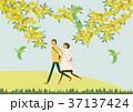 春 人物 イメージのイラスト 37137424
