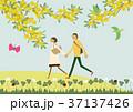 春 人物 イメージのイラスト 37137426