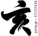 「亥」年賀状用筆文字素材 37137438