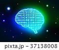 人工知能 イメージイラスト 青緑 37138008