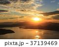 朝日 風景 北海道の写真 37139469