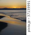 七里ヶ浜海岸 海 朝焼けの写真 37139991