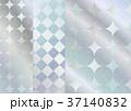 銀色 模様 テクスチャーのイラスト 37140832