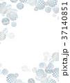 銀色 フレーム テクスチャーのイラスト 37140851