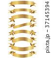 リボン フレーム 枠のイラスト 37145394