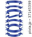 リボン フレーム 枠のイラスト 37145399
