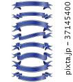 リボン フレーム 枠のイラスト 37145400