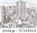 八王子の街並みと奥多摩の山々 37145414