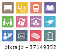広告媒体 ピクトグラム アイコンのイラスト 37149352