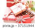 プレゼント ギフトボックス バレンタインの写真 37151944
