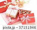 プレゼント リボン バレンタインの写真 37151946