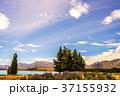 テカポ湖 湖 湖畔の写真 37155932