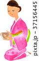 茶会の女性 37156445