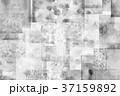 コラージュ テクスチャー 背景素材のイラスト 37159892