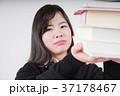 課題が山積みな女子高生 37178467