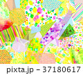 コラージュ 背景素材 模様のイラスト 37180617