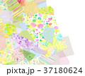 コラージュ 背景素材 模様のイラスト 37180624