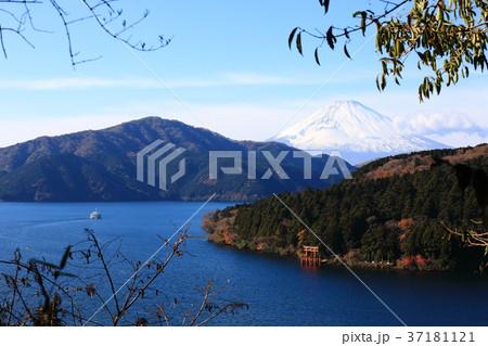 芦ノ湖 富士山 遊覧船 37181121