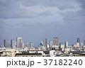 大阪府大阪市 西成区から見た大阪市街 37182240