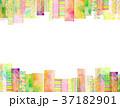 コラージュ フレーム 背景素材のイラスト 37182901