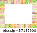 コラージュ フレーム 背景素材のイラスト 37182908