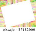 コラージュ フレーム 背景素材のイラスト 37182909