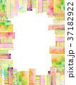 コラージュ フレーム 背景素材のイラスト 37182922