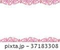 葉 背景素材 フレームのイラスト 37183308