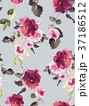 Seamless summer pattern with watercolor flowers 37186512