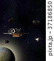 Spaceships Travelling Through an Asteroid Field 37186850
