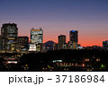 国会議事堂と富士山 37186984