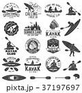 ベクトル カヌー カヤックのイラスト 37197697