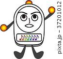 目覚まし時計 アラーム 時計のイラスト 37201012