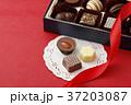 バレンタイン バレンタインデー リボンの写真 37203087