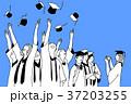 卒業 目盛り グループのイラスト 37203255