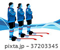 illustration of member of the national team for winter olympics, medalists and athlete 009 37203345