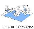 イラスト 挿絵 ベビーのイラスト 37203762