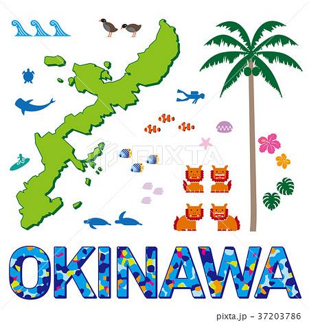 沖縄のイラスト 37203786