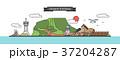 イラスト イラストレーション 動物のイラスト 37204287