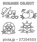 Set of Summer object 013 37204503