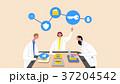 グループ 群れ PCのイラスト 37204542