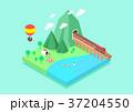イラスト 挿絵 野宿のイラスト 37204550
