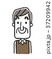 ベクター 人物 シニアのイラスト 37209942