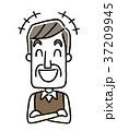 ベクター 人物 シニアのイラスト 37209945