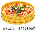 ちらし寿司 桶 和食のイラスト 37213907