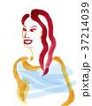 赤い髪の女性 37214039