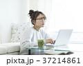 女性 若い 人物の写真 37214861